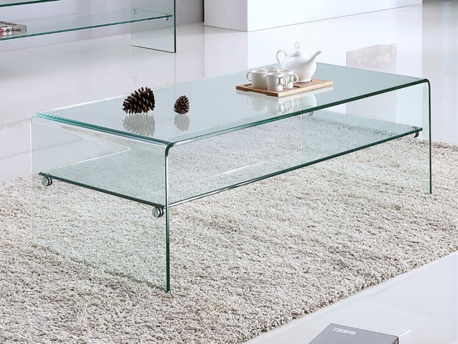 Table Basse En Verre Une Table Basse Assez Legere